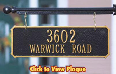 Ideal Mailbox Name Plaque Hj86 Advancedmassagebysara