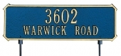 Two Sided Address Signs