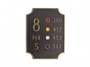 Waterford Golf Montague Aluminum Plaque