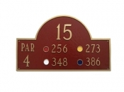 Classic Golf Montague Aluminum Plaque