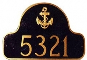 Anchor Arch Montague Address Plaque