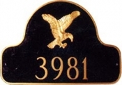 Eagle Arch Montague Address Plaque
