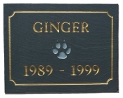 The Stone Mill Pet Memorial Slate Plaque