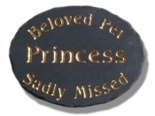 The Stone Mill Beloved Pet Memorial Slate Plaque