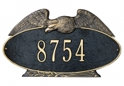 Eagle Oval Whitehall Address Plaque