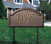 Lawn Address Signs