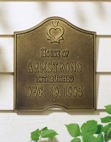 Pennsylvania Dutch Anniversary Plaque