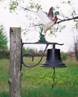 Country Bell - Large with Ornament